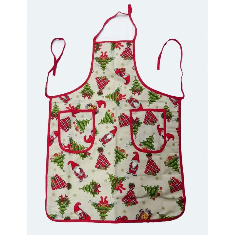 Grembiule da cucina con pettorina vasetto decorativo - Grembiule da cucina ...