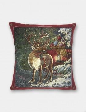 Cuscino arredo Natale - Renne