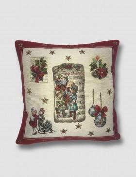 Cuscino arredo Natale - Gnomi