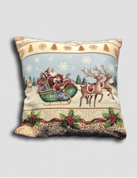 Cuscino arredo Natale - Slitta