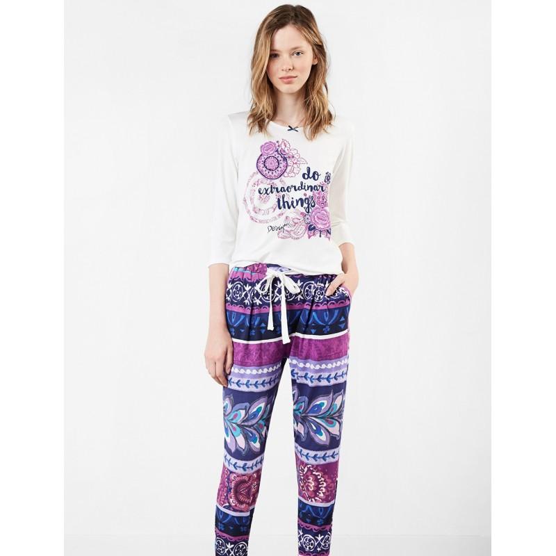comprare popolare bfc8e 8184d Maglia pigiama Desigual Boho Jeans