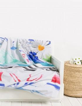 Living foulard Desigual Blue