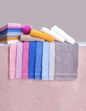Coppia asciugamani tinta unita